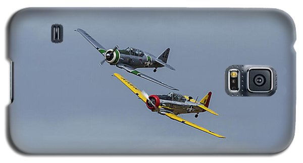 Galaxy S5 Case featuring the photograph T-6 Trainers by Elvira Butler