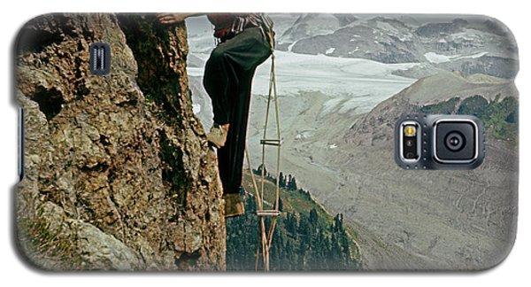 T-902901 Fred Beckey Climbing Galaxy S5 Case