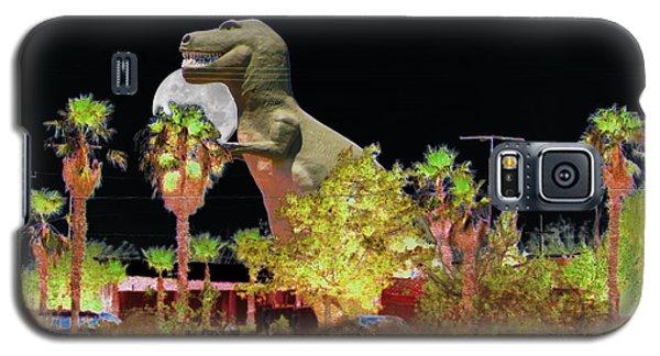 T-rex In The Desert Night Galaxy S5 Case