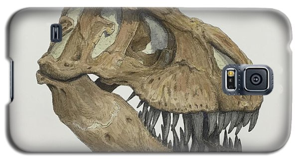 T. Rex Skull 2 Galaxy S5 Case
