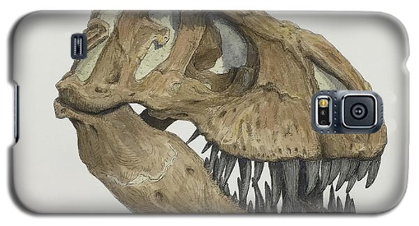 T. Rex Skull 2 Galaxy S5 Case