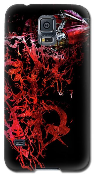 T Shirt Deconstruct Red Cadillac Galaxy S5 Case