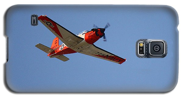 T34 Mentor Trainer Flying Galaxy S5 Case