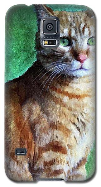 Tabby Cat Galaxy S5 Case