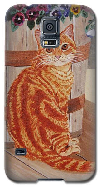 Tabby Cat Galaxy S5 Case