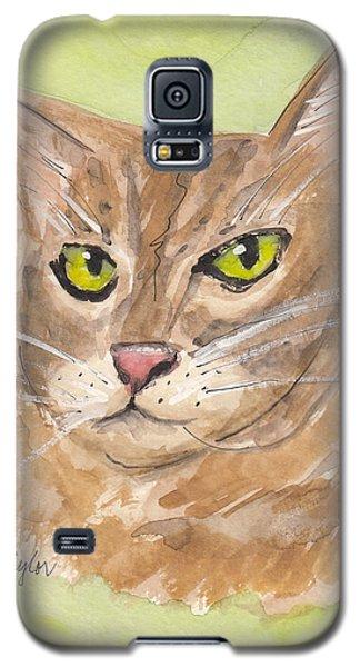 Tabby With Attitude Galaxy S5 Case