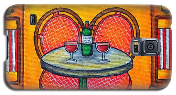 Table For Two In Paris Galaxy S5 Case
