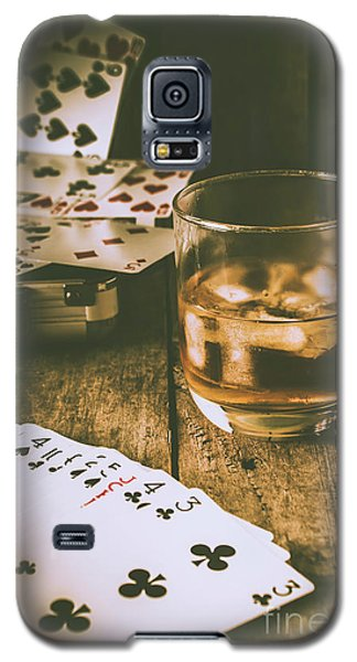 Table Games And The Wild West Saloon  Galaxy S5 Case
