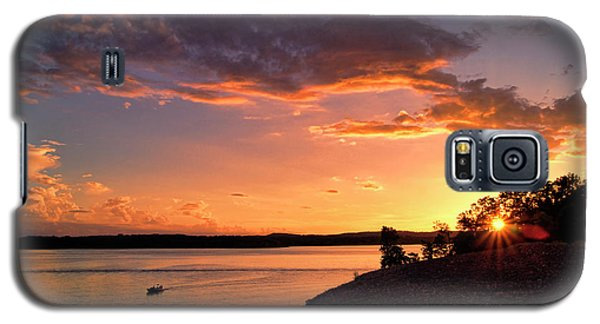 Galaxy S5 Case featuring the photograph Table Rock Sunset by Cricket Hackmann
