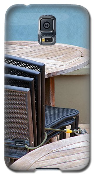 Tables And Chairs Galaxy S5 Case