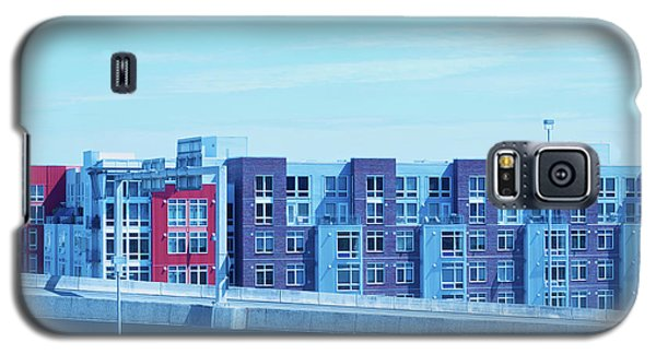 Galaxy S5 Case featuring the photograph Tacoma Blues - Cityscape Art Print by Jane Eleanor Nicholas