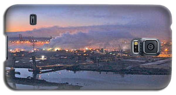 Tacoma Dawn Panorama Galaxy S5 Case by Sean Griffin