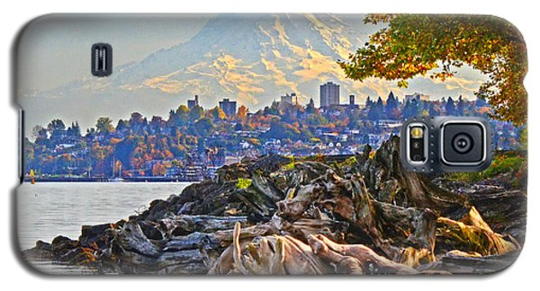 Galaxy S5 Case featuring the photograph Tacoma In The Fall by Jack Moskovita