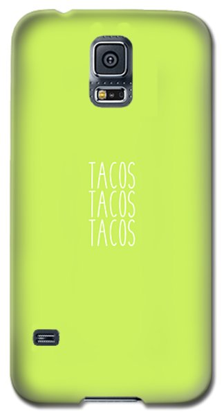 Tacos Galaxy S5 Case by Cortney Herron