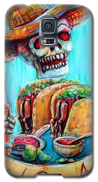 Tacos De Carne Asada Galaxy S5 Case