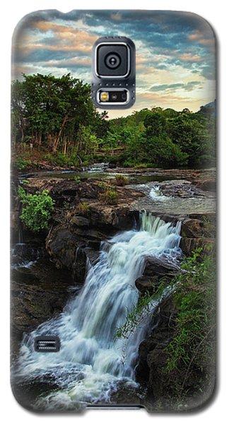 Tad Lo Waterfall, Bolaven Plateau, Champasak Province, Laos Galaxy S5 Case
