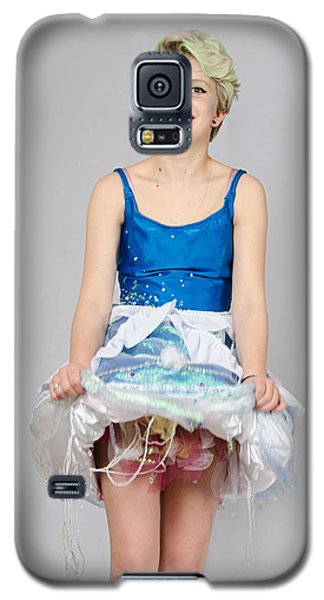 Taetyn In Jelly Fish Dress Galaxy S5 Case