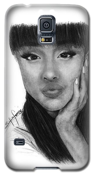 Ariana Grande Drawing By Sofia Furniel Galaxy S5 Case
