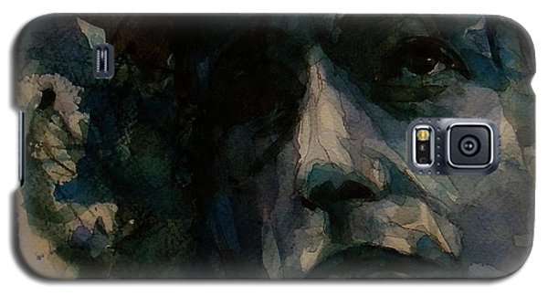 Tagged Up In Blue- Bob Dylan  Galaxy S5 Case