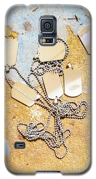 Galaxy S5 Case featuring the photograph Tags Of War by Jorgo Photography - Wall Art Gallery