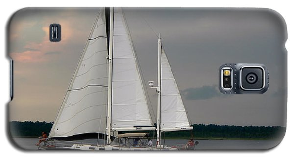 Tahiti Under Sail Galaxy S5 Case