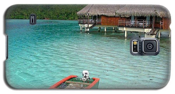 Tahitian Boat Galaxy S5 Case