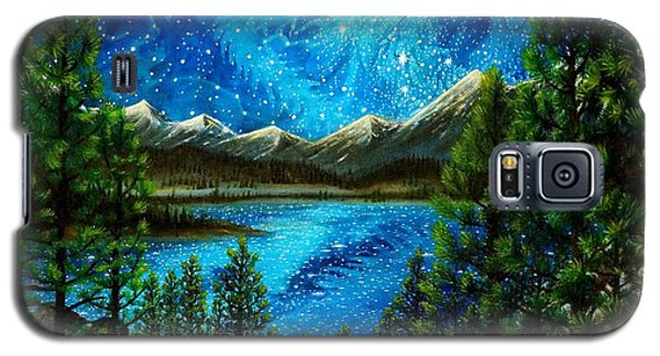 Galaxy S5 Case featuring the painting Tahoe A Long Time Ago by Matt Konar