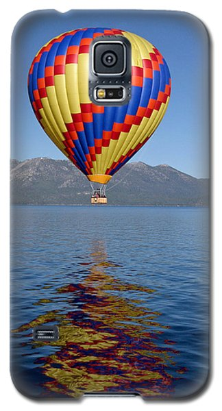 Galaxy S5 Case featuring the photograph Tahoe Balloon. by Mitch Shindelbower