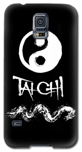 Tai Chi Black Galaxy S5 Case