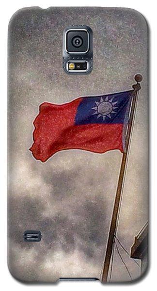 Taiwan Flag Galaxy S5 Case by Bill Owen