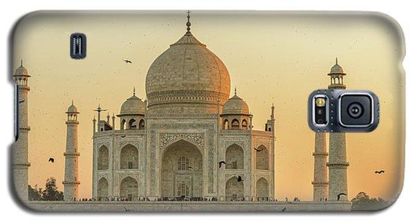 Taj Mahal At Sunset 01 Galaxy S5 Case