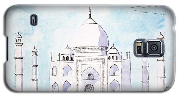 Taj Mahal Galaxy S5 Case by Keshava Shukla