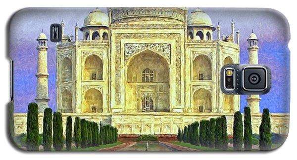 Taj Mahal Morning Galaxy S5 Case by Dominic Piperata