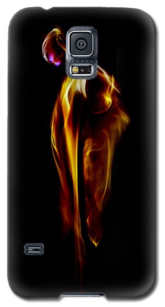 Galaxy S5 Case featuring the photograph Take A Breath Of Your Light by Steven Poulton