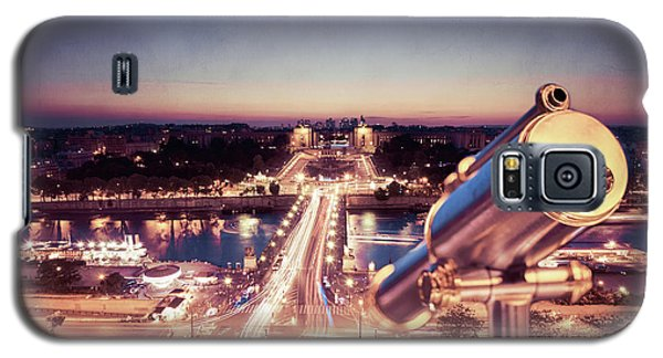 Galaxy S5 Case featuring the photograph Take A Look At Paris by Hannes Cmarits