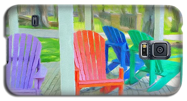 Take A Seat But Don't Take A Chair Galaxy S5 Case