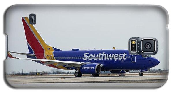 Take Off Southwest Airlines N7878a Hartsfield-jackson Atlanta International Airport Art Galaxy S5 Case