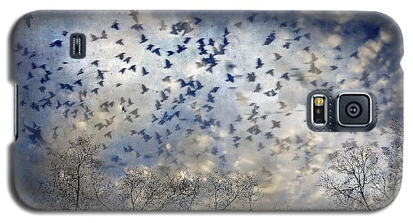 Galaxy S5 Case featuring the photograph Taken Flight by Jan Amiss Photography