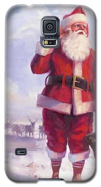 Elf Galaxy S5 Case - Taking A Break by Steve Henderson