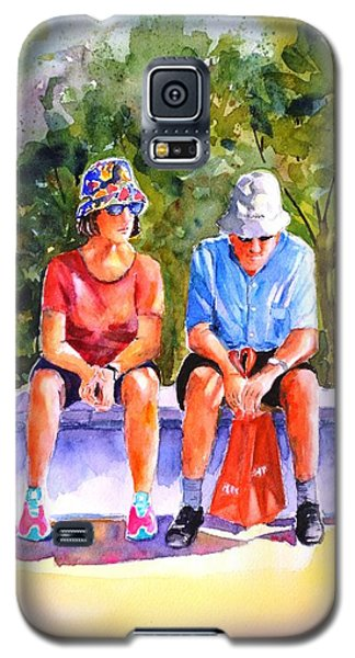 Taking A Rest - 2 Galaxy S5 Case