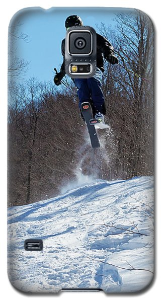 Galaxy S5 Case featuring the photograph Taking Air On Mccauley Mountain by David Patterson