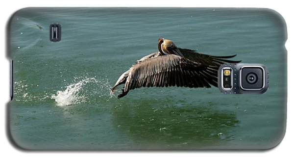 Galaxy S5 Case featuring the photograph Taking Flight by Rod Wiens