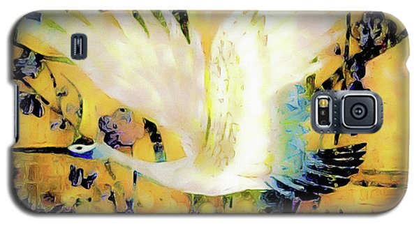 Taking Wing Above The Garden - Kimono Series Galaxy S5 Case