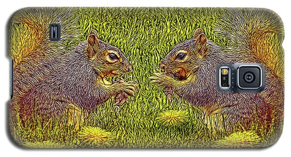 Tale Of Two Squirrels Galaxy S5 Case