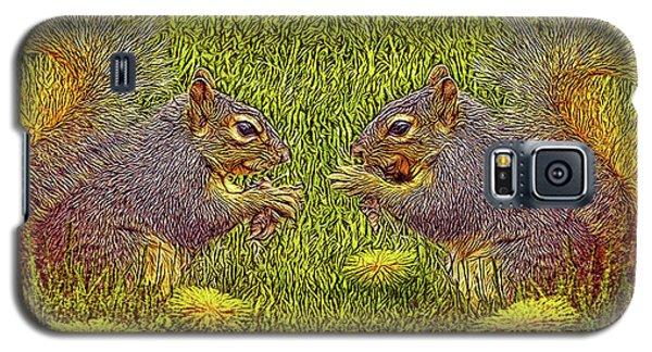 Tale Of Two Squirrels Galaxy S5 Case by Joel Bruce Wallach