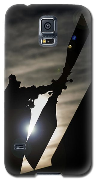 Galaxy S5 Case featuring the photograph Tale Sun by Paul Job