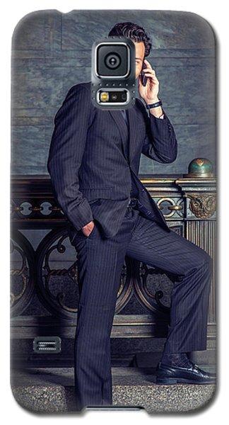 Talking On Phone Galaxy S5 Case