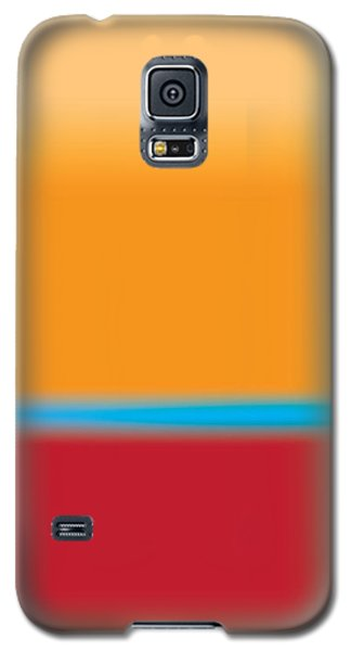 Tall Abstract Color Galaxy S5 Case