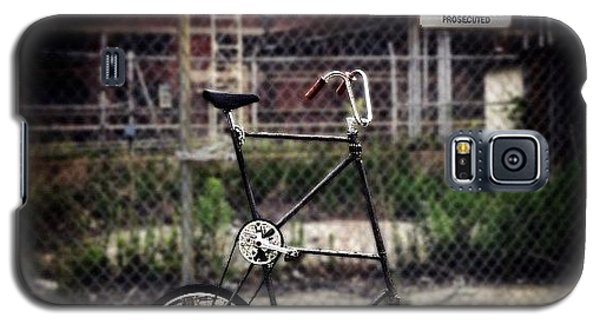 Tall Bike Galaxy S5 Case by Natasha Marco