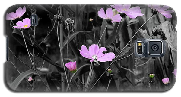 Tall Pink Poppies Galaxy S5 Case